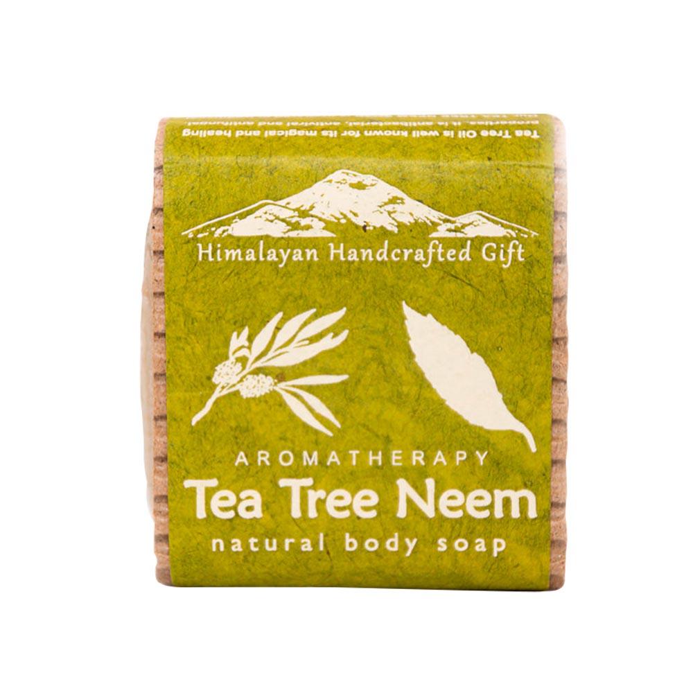 Bountyhimalaya 喜馬拉雅之寶|尼泊爾手工精油皂- 茶樹+苦楝樹