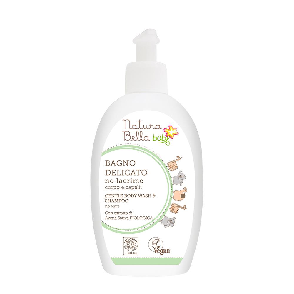Natura Bella Baby貝拉寶貝| 天然草本燕麥嬰兒洗髮沐浴露