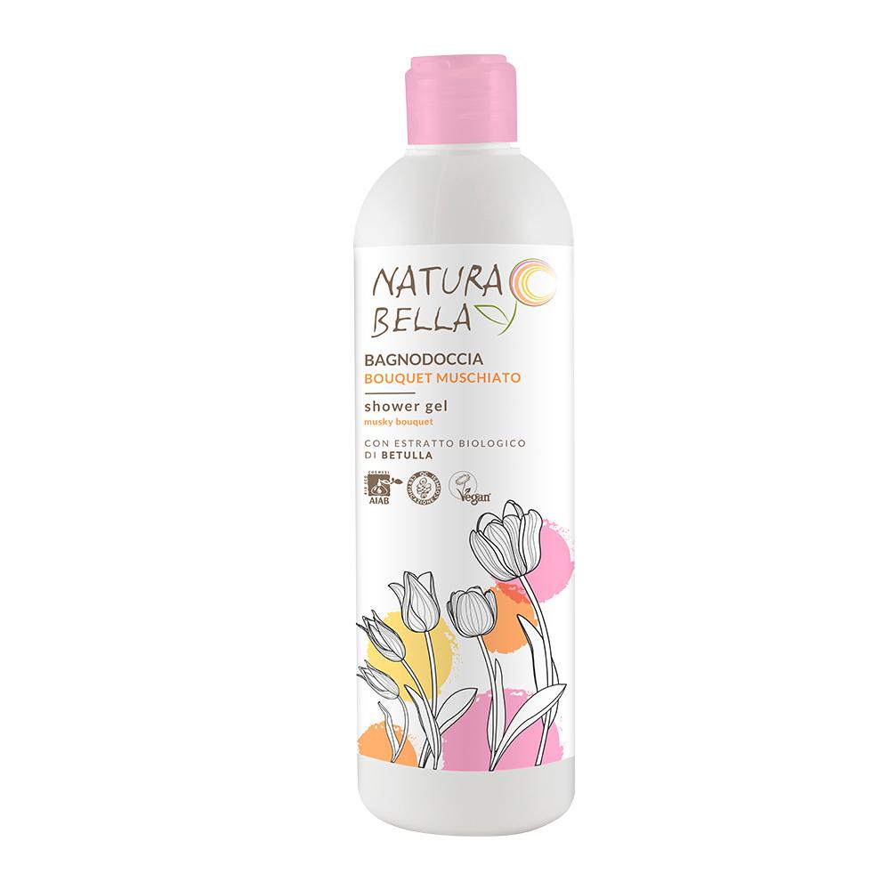 Natura Bella貝拉小姐|天然草本白樺葉肌潤保濕沐浴凝露