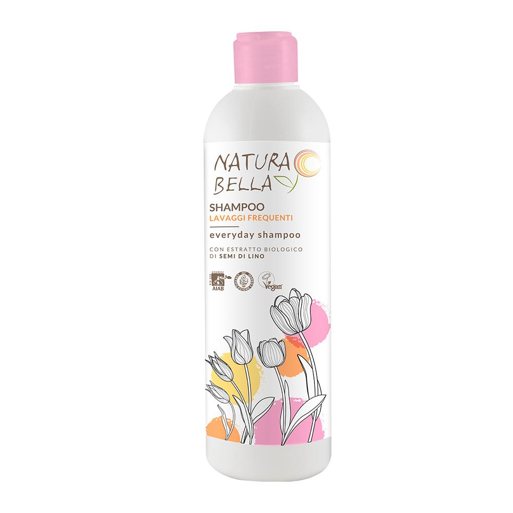 Natura Bella貝拉小姐| 天然亞麻籽保濕修護洗髮精