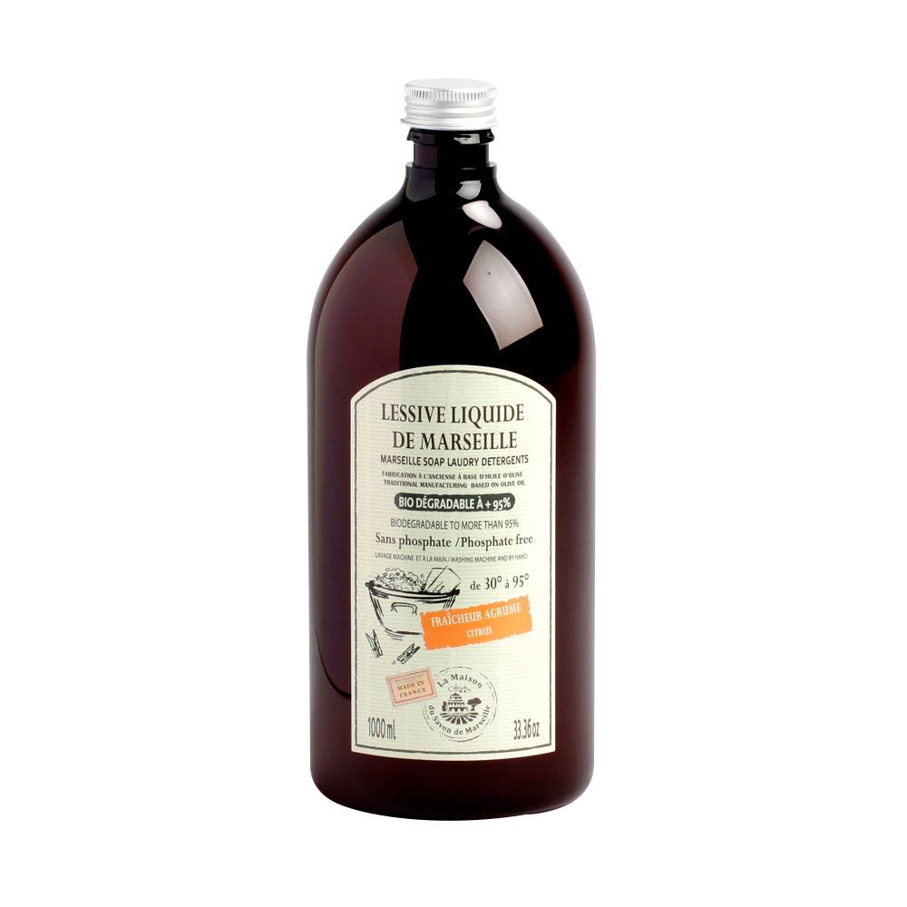 法國馬賽皂之家|天然優質橄欖油液體洗衣皂 - 橙花精油