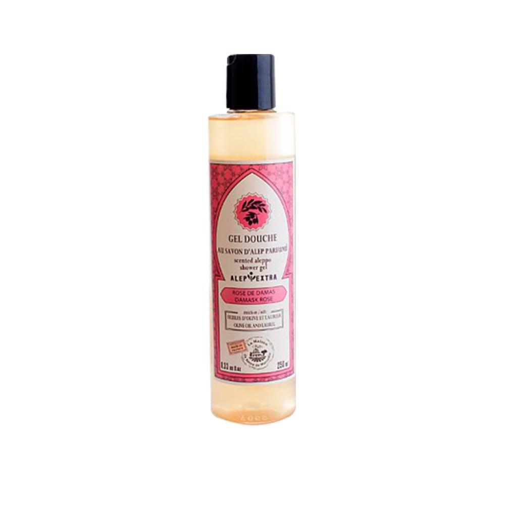 法國馬賽皂之家|最天然原始的皂 阿勒坡液體沐浴皂-大馬士革玫瑰