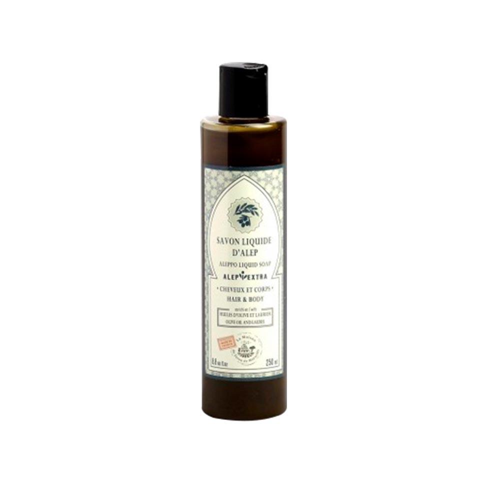 法國馬賽皂之家|最天然原始的皂 阿勒坡液體沐浴皂-月桂油