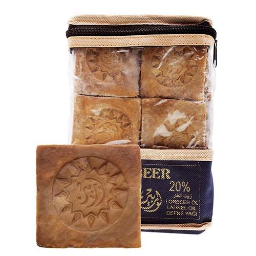 Lorbeer 洛貝爾|歷史的眼淚! 敘利亞正統11年阿勒坡手工古皂20%月桂油 超值六入組