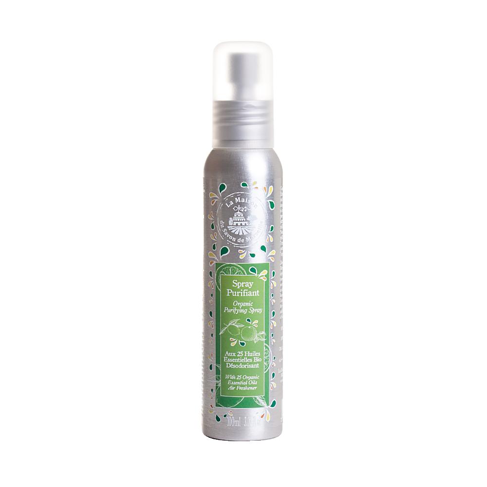 法國馬賽皂之家|天然25種草本精油環境淨化噴霧