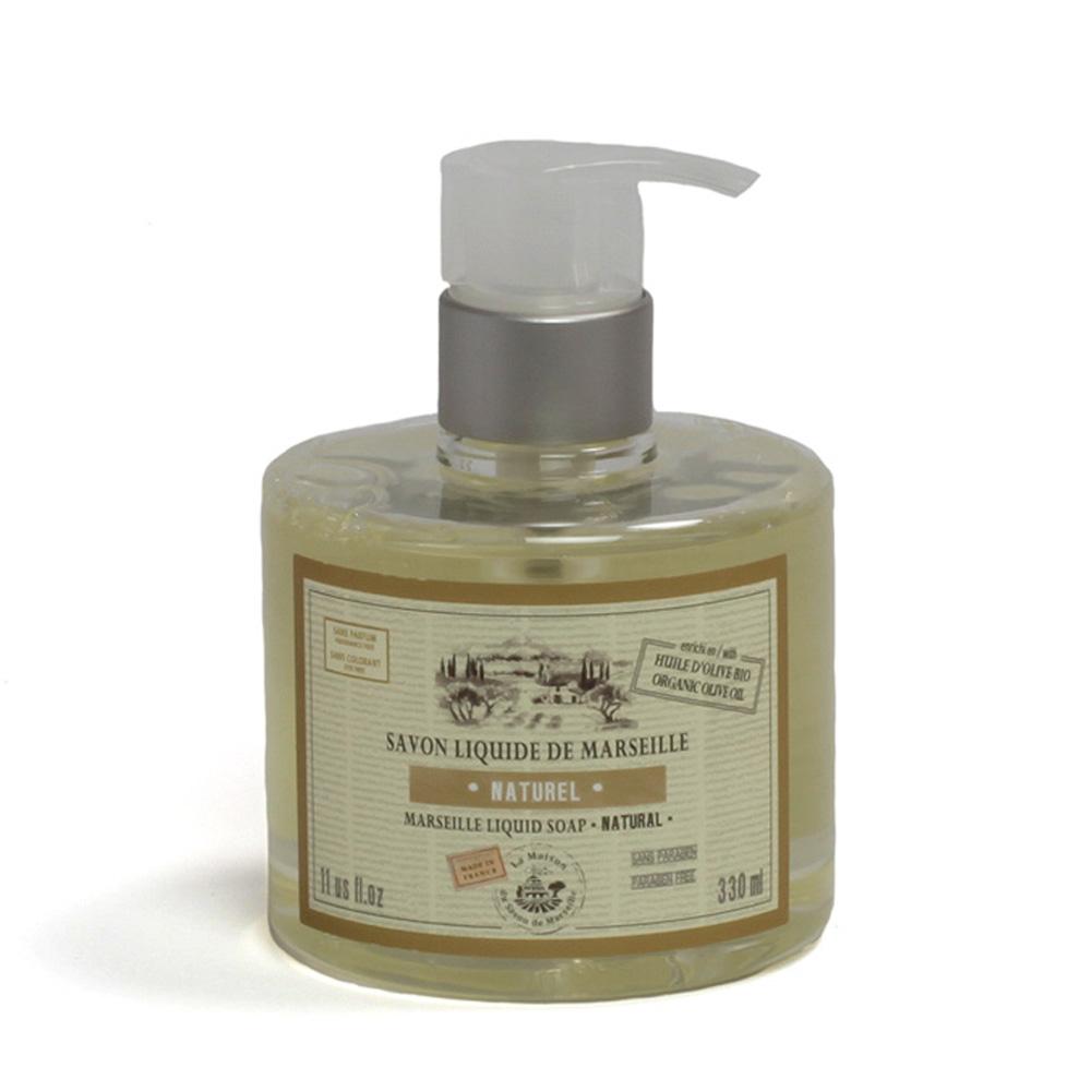 法國馬賽皂之家|滋潤液體馬賽皂- 自然清香330ml