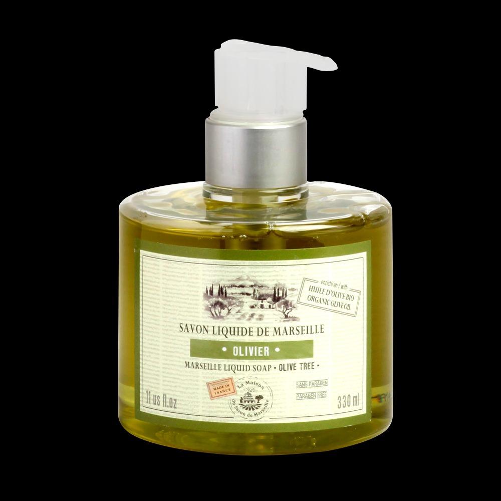 法國馬賽皂之家|滋潤液體馬賽皂- 純淨橄欖油330ml