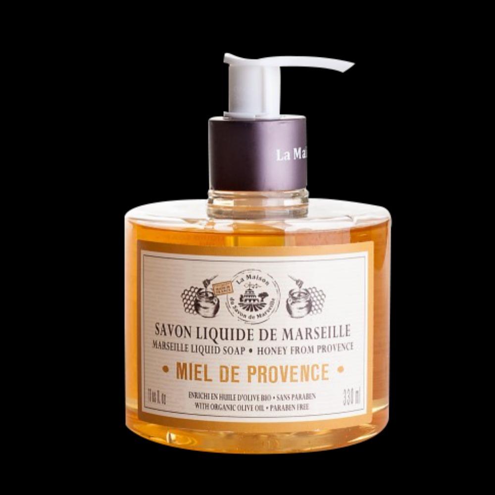 法國馬賽皂之家|滋潤液體馬賽皂- 清甜蜂蜜330ml