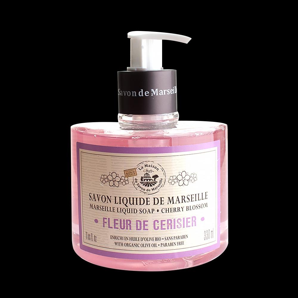 法國馬賽皂之家 滋潤液體馬賽皂- 甜蜜櫻花330ml