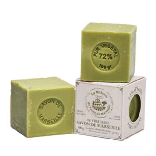 法國馬賽皂之家|正統經典72%橄欖油馬賽皂100g