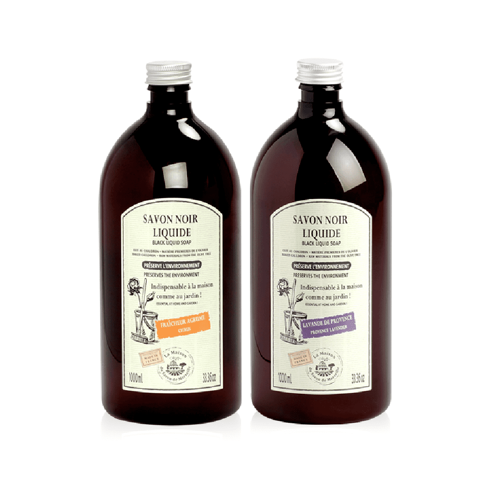 法國馬賽皂之家|馬賽黑皂萬用清潔液1000ml