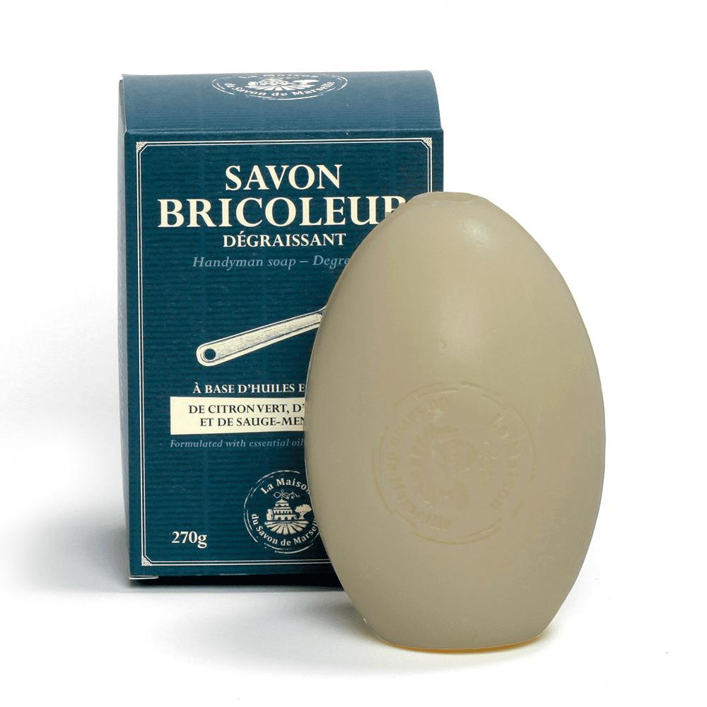 法國馬賽皂之家 園丁叔叔/廚師叔叔/工人叔叔蛋型護理馬賽皂270g