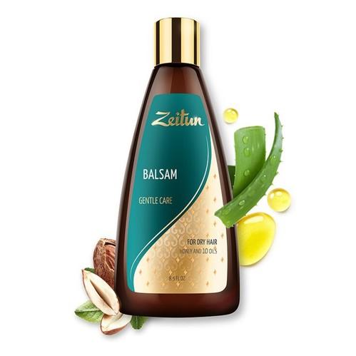 俄羅斯Zeitun莎杜 蜂蜜杏仁深層修護護髮乳250ml