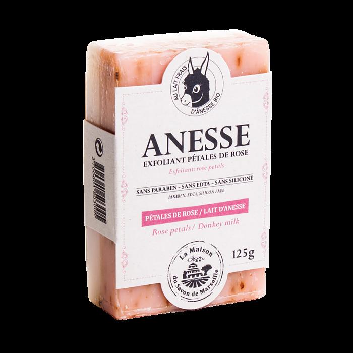璞.香氛 PÜRESENCE La Maison 馬賽皂之家滋潤驢奶皂 - 玫瑰花瓣