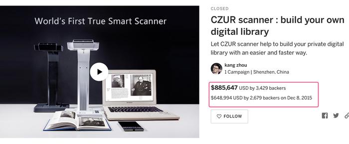 【集購】CZUR|Shine Ultra 秒速攜帶式高拍儀