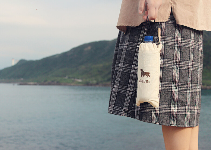 DUBBE | 天然棉質束口袋 Natural Cotton Bag (適用於牙刷、鍋刷、隨身小物)