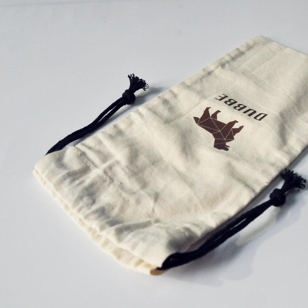 DUBBE   天然棉質束口袋 Natural Cotton Bag (適用於牙刷、鍋刷、隨身小物)