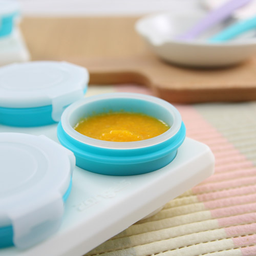 2angels|矽膠副食品零食儲存杯 60ml(四入)