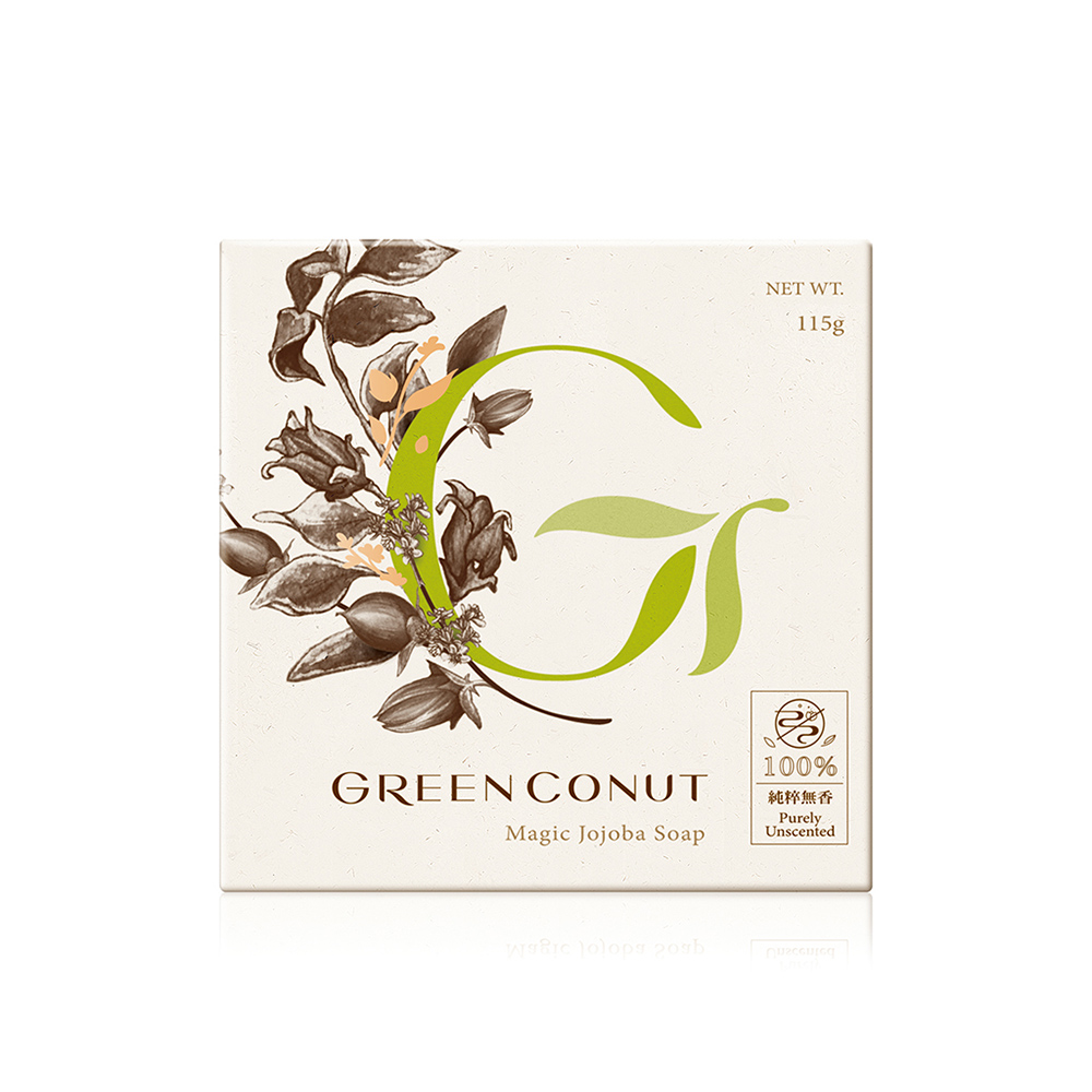 GREENCONUT綠果 神奇灌木皂-115g