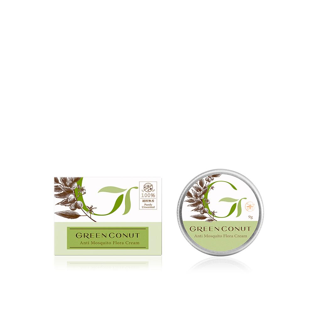 GREENCONUT綠果|印楝植物防蚊膏-9g