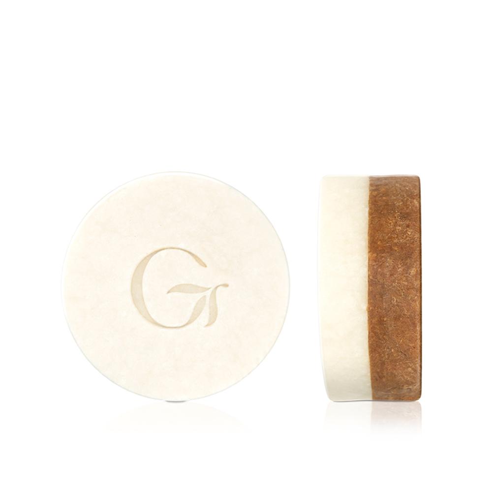 GREENCONUT綠果|雙色瑞豆豆皂 日夜潔淨-120g
