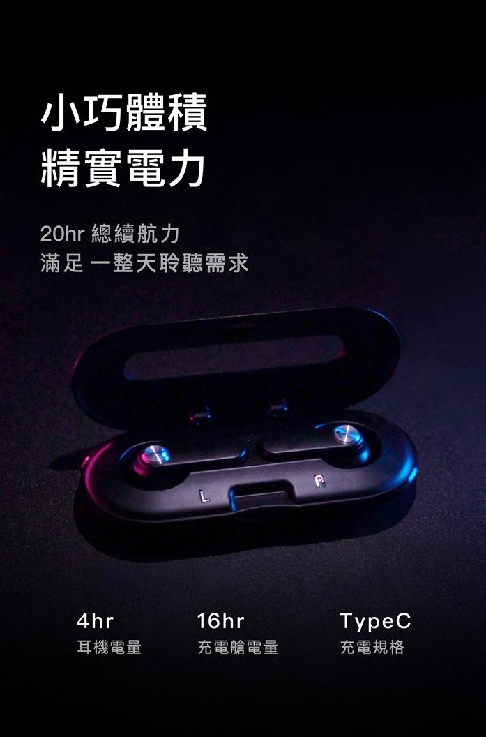 YOBYBO CARD 20 世界最輕薄的無線耳機 - 太空黑
