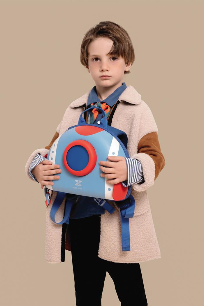 zoyzoii|夢想家兒童雙肩書包-宇宙戰艦