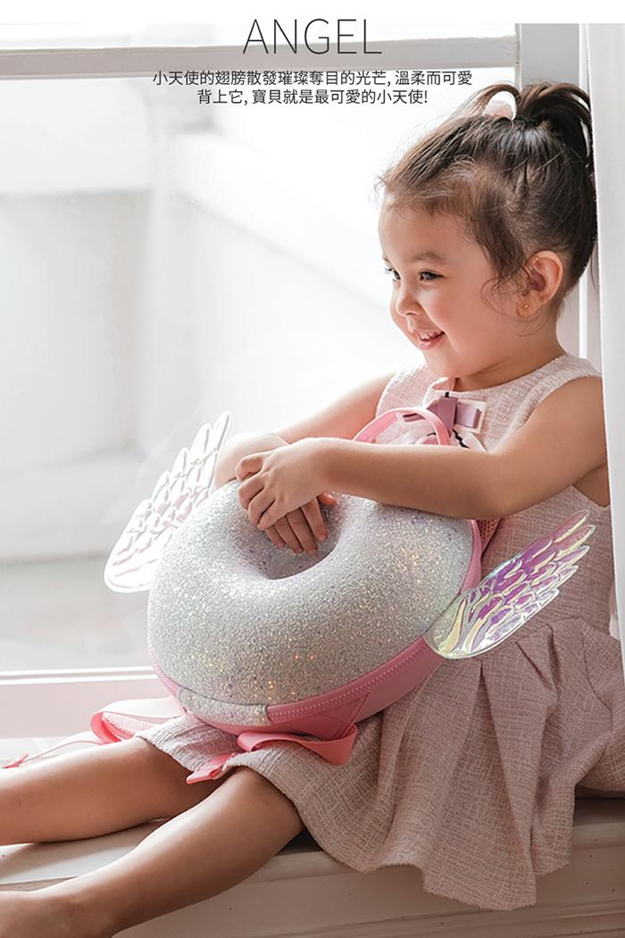 zoyzoii|甜甜圈兒童雙肩書包-小天使