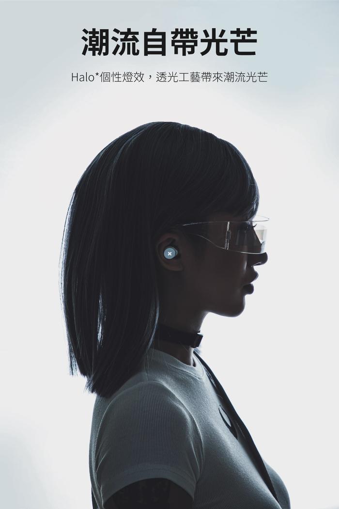 SONGX| 真無線藍牙耳機(SX06)-白