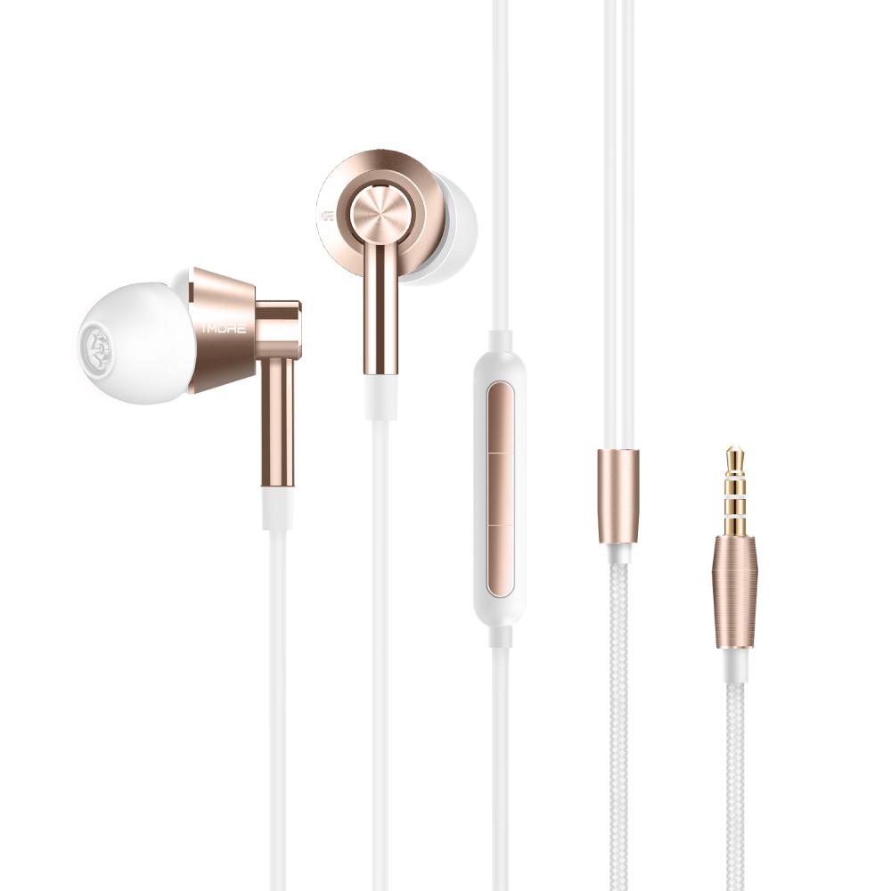 1MORE|好聲音入耳式耳機(1M301)-金