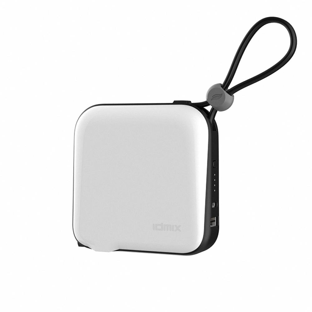 idmix|MR CHARGER 10000 MFI 旅充式行動電源(CH05)-白