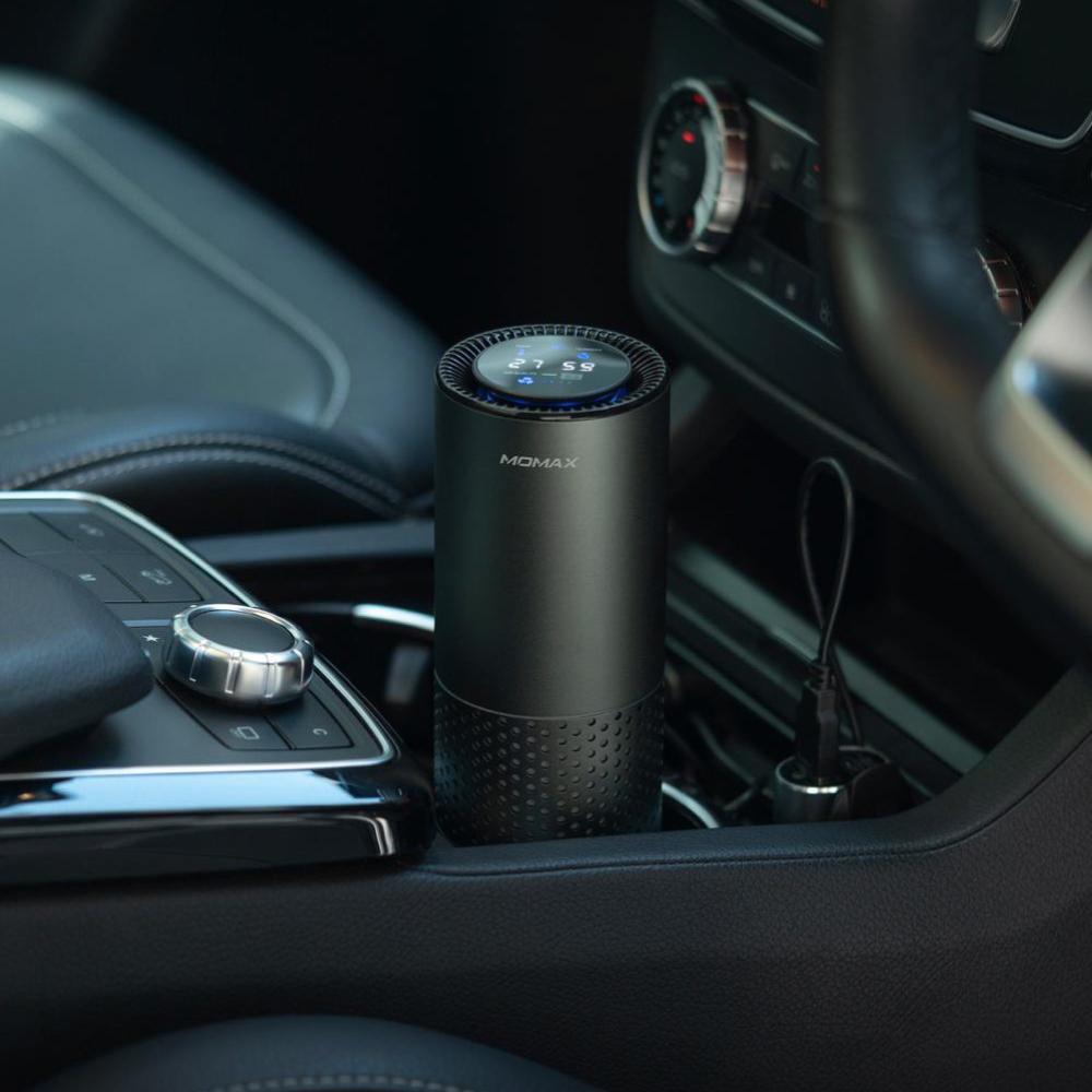 MOMAX|Pure Go 智能車用空氣清新機(AP5)-太空灰