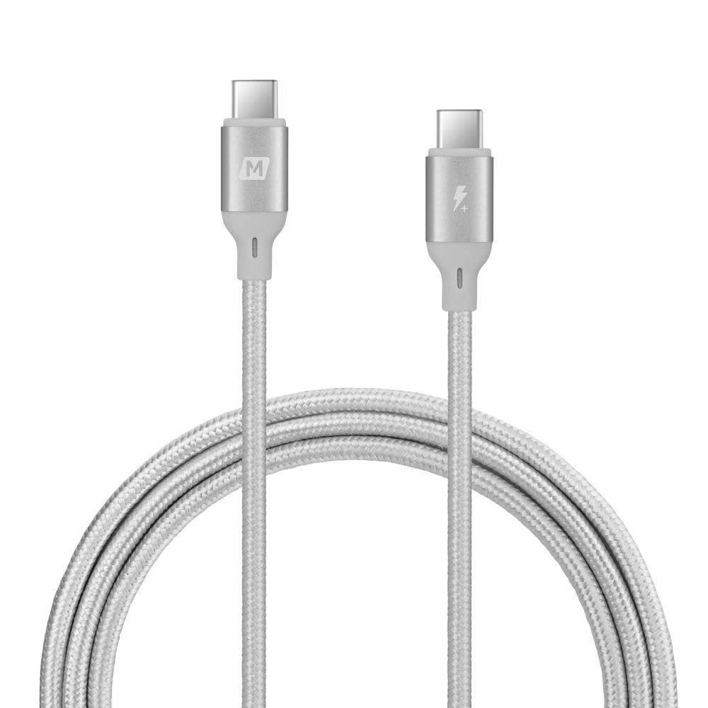 MOMAX|Go Link Type-C to C PD 連接線DC19(1.2米)-銀