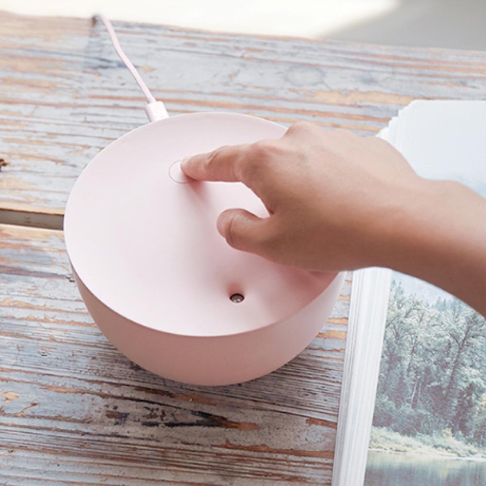 SOLOVE|桌面加濕器H1 - 海仙粉