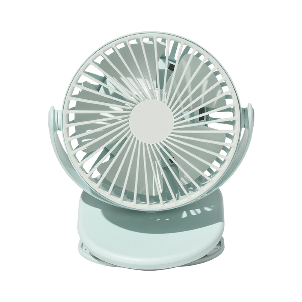 SOLOVE|迷你夾式風扇F3 - 竹簧綠