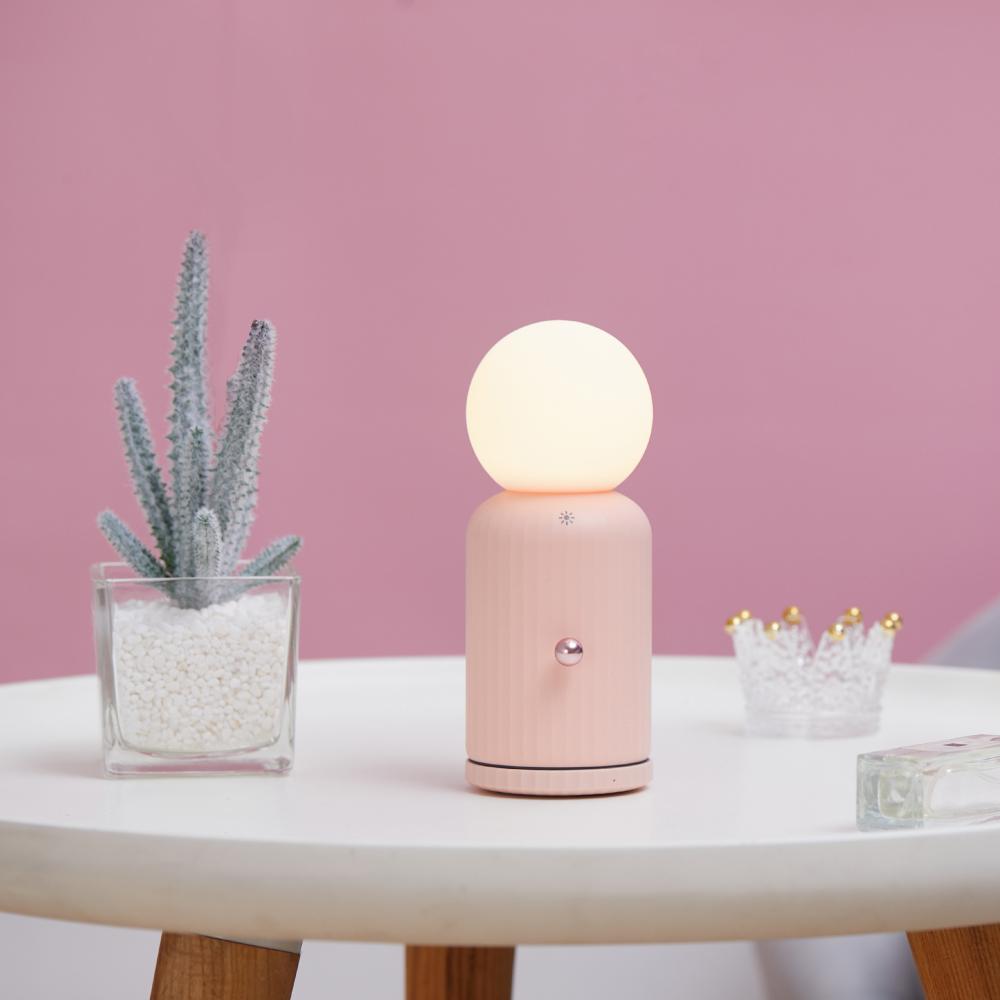 idmix|多功能小夜燈-粉