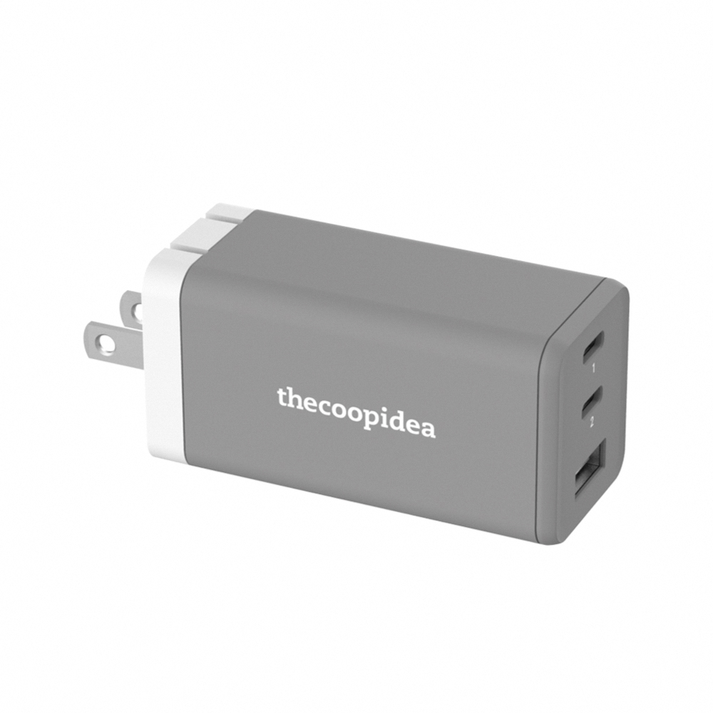 thecoopidea|氮化鎵 PD 65W 智能充電器
