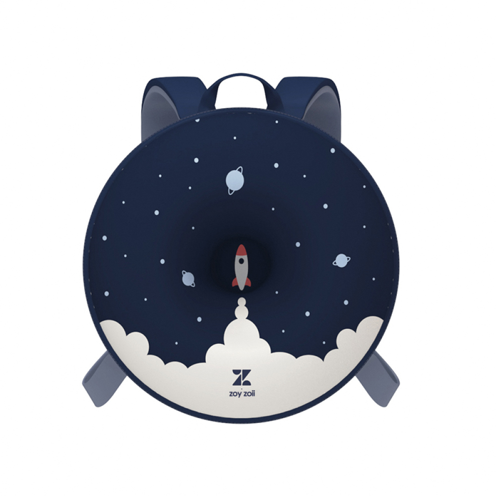 zoyzoii|甜甜圈兒童雙肩書包-宇宙星空