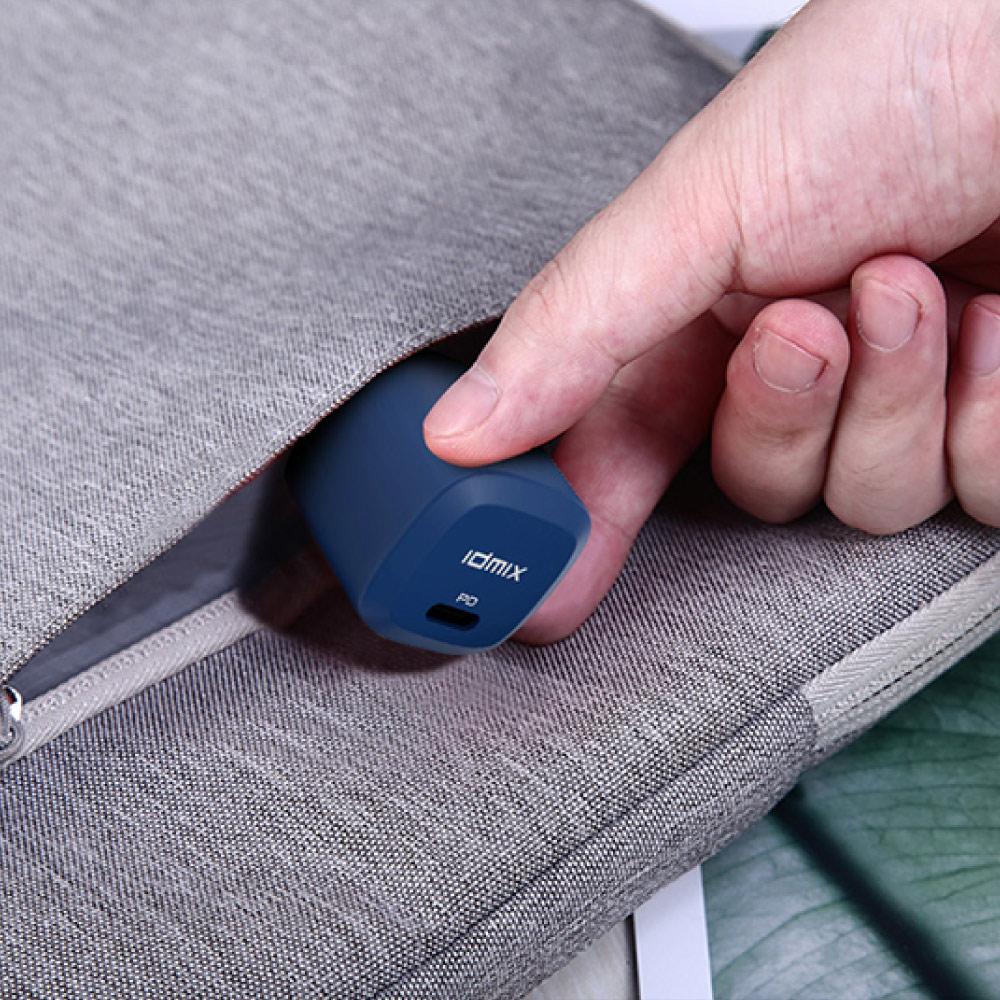 idmix|PD 20W 快充充電器P20 - 藍 (全面支援iPhone 12 快充)