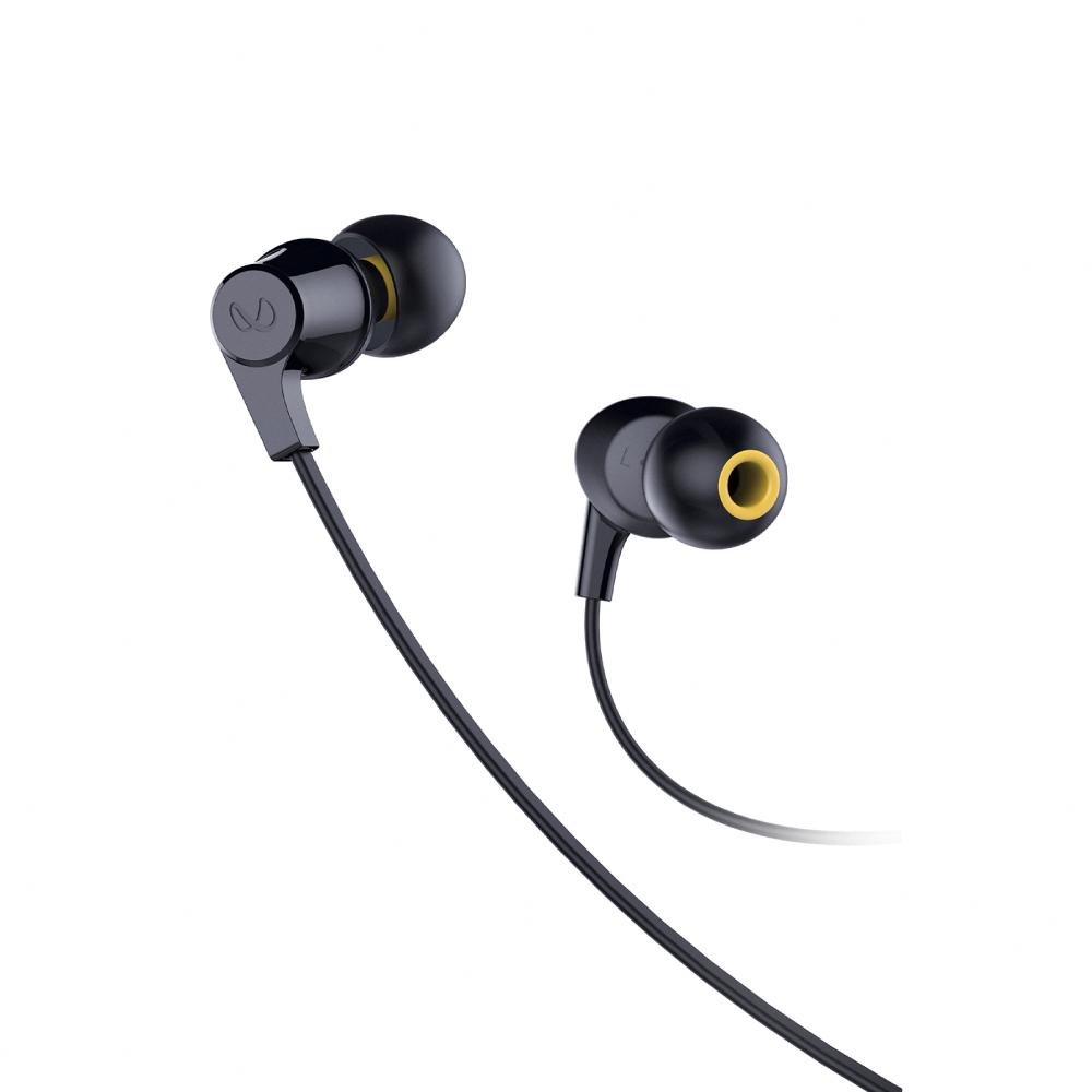 Infinity WYND 300 立體聲耳道式耳機-黑