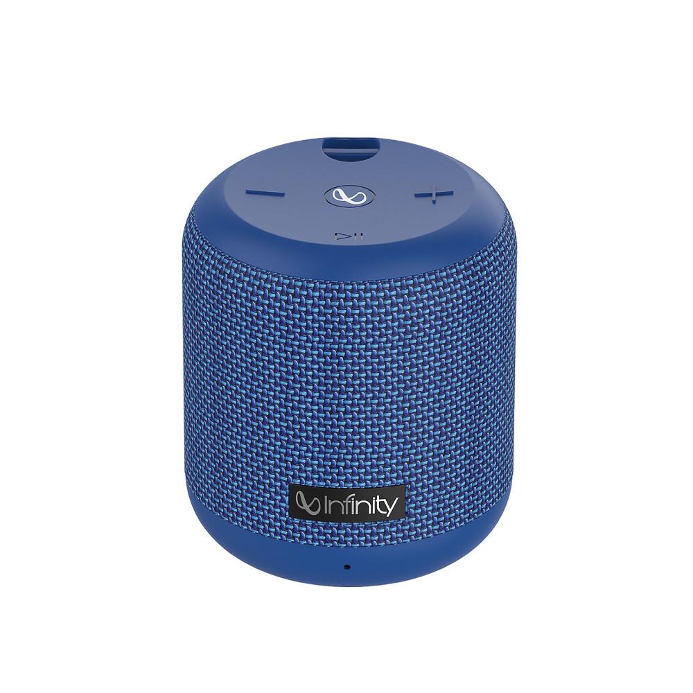 Infinity|附掛繩便攜式藍牙喇叭 CLUBZ 150(IPX7防水)-藍