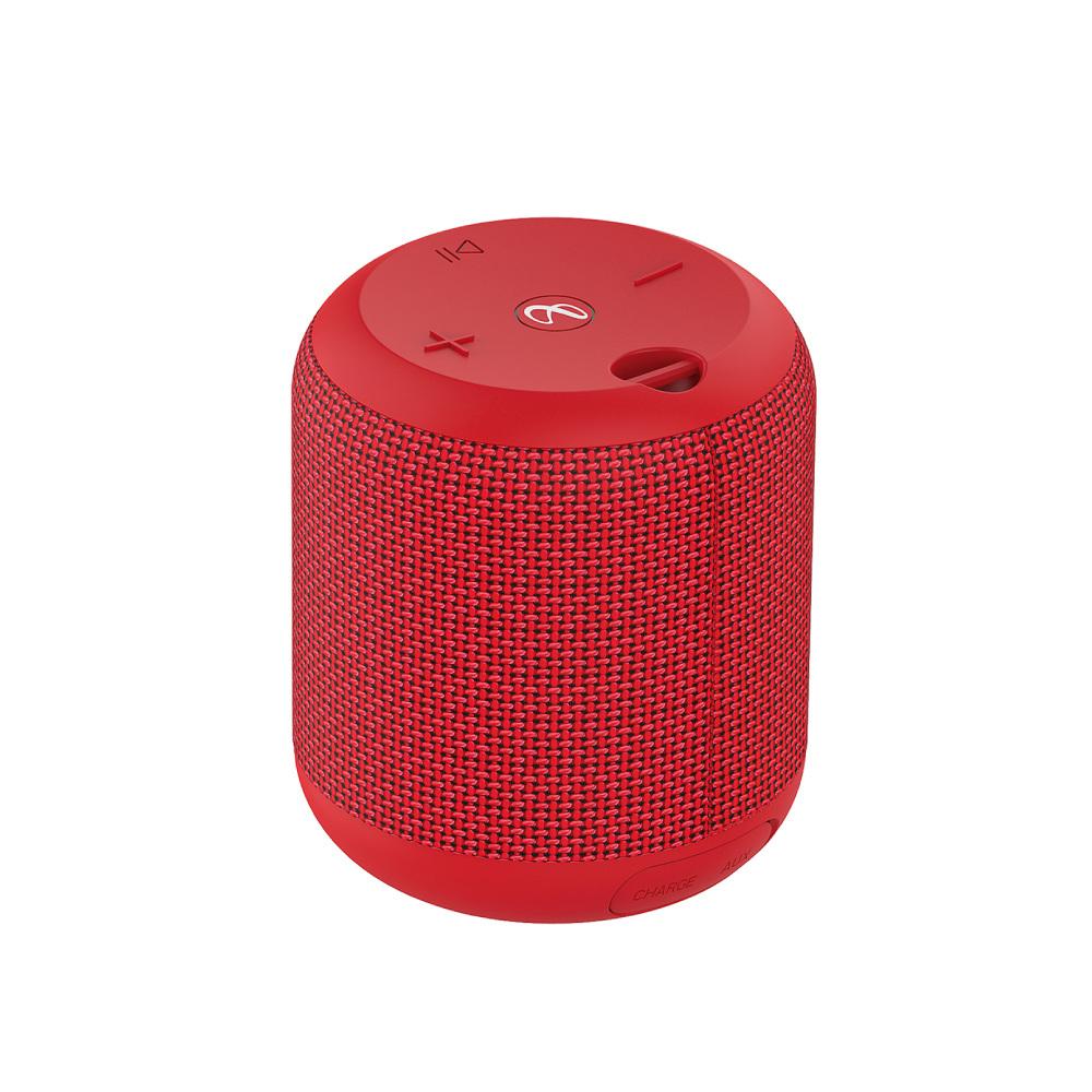 Infinity|附掛繩便攜式藍牙喇叭 CLUBZ 150(IPX7防水)-紅