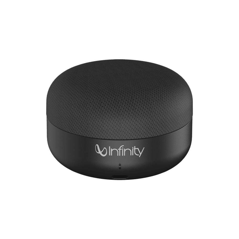 Infinity|CLUBZ MINI 便攜式藍牙喇叭-黑