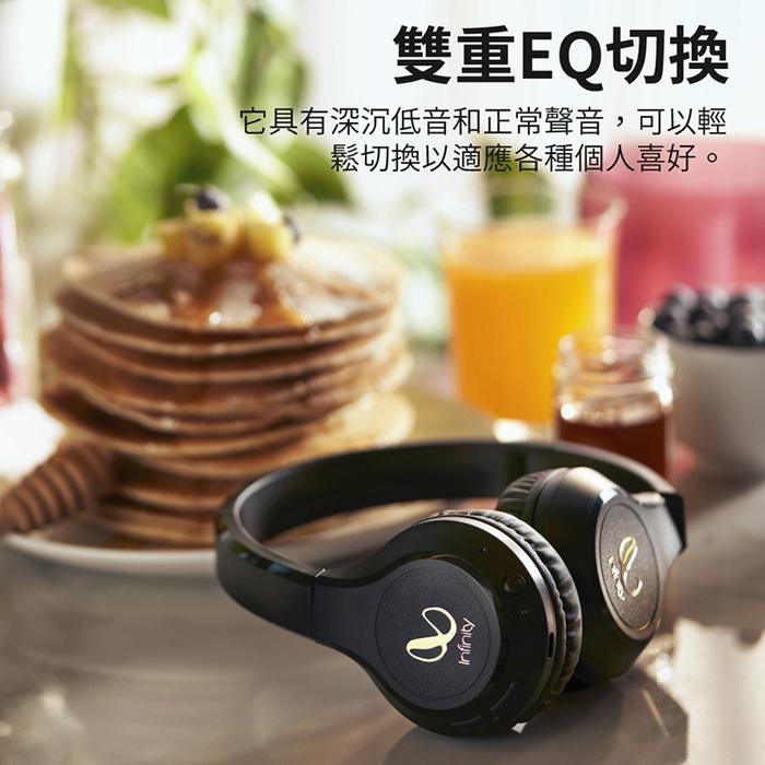 (複製)Infinity 無線貼耳式藍牙耳機 TRANZ 700-紅
