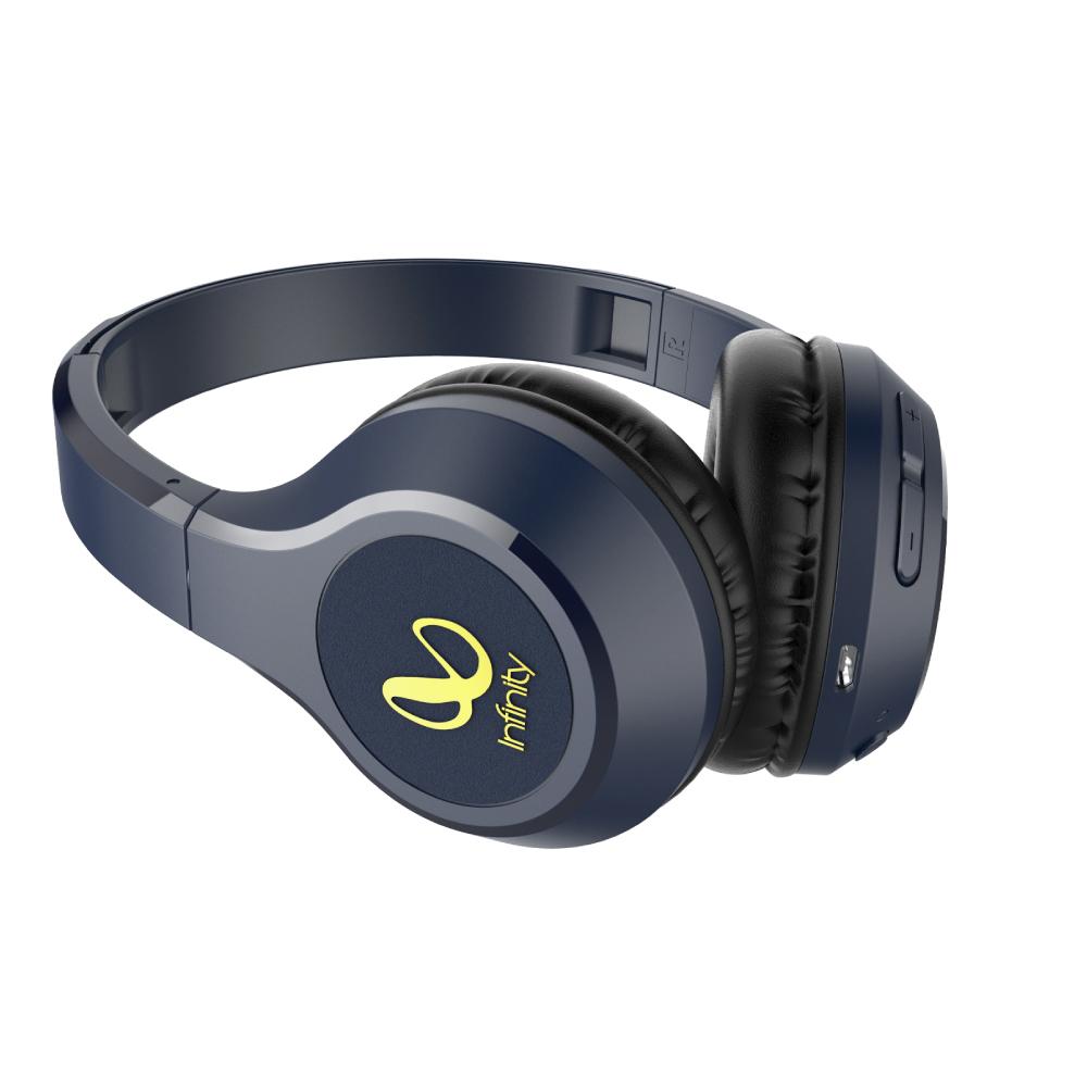 Infinity|無線貼耳式藍牙耳機 TRANZ 700-藍