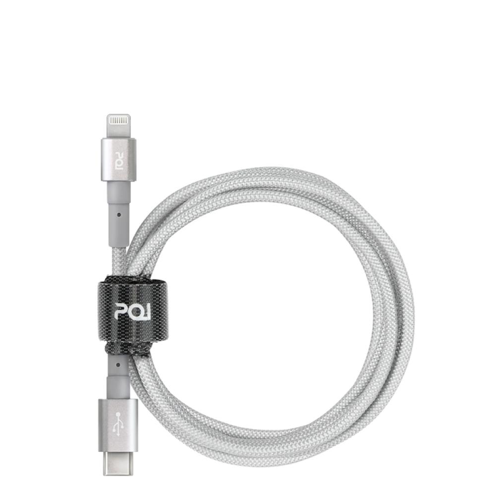 PQI|PD 快充組合包(C TO Lightning傳輸線+PDC24W充電器)