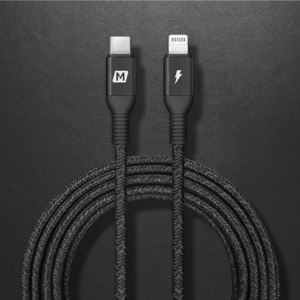 MOMAX|ELITE LINK C to Lightning 傳輸線DL50(300cm)-黑