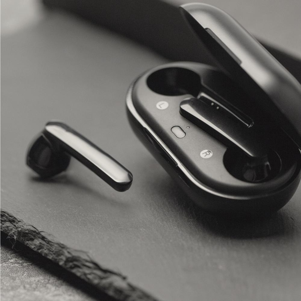 MOMAX|Pills Go 真無線藍牙耳機(BT7)-黑