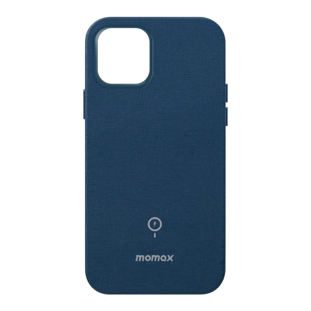 MOMAX Fusion Magsafe (iP12 Pro Max) 保護殼-藍
