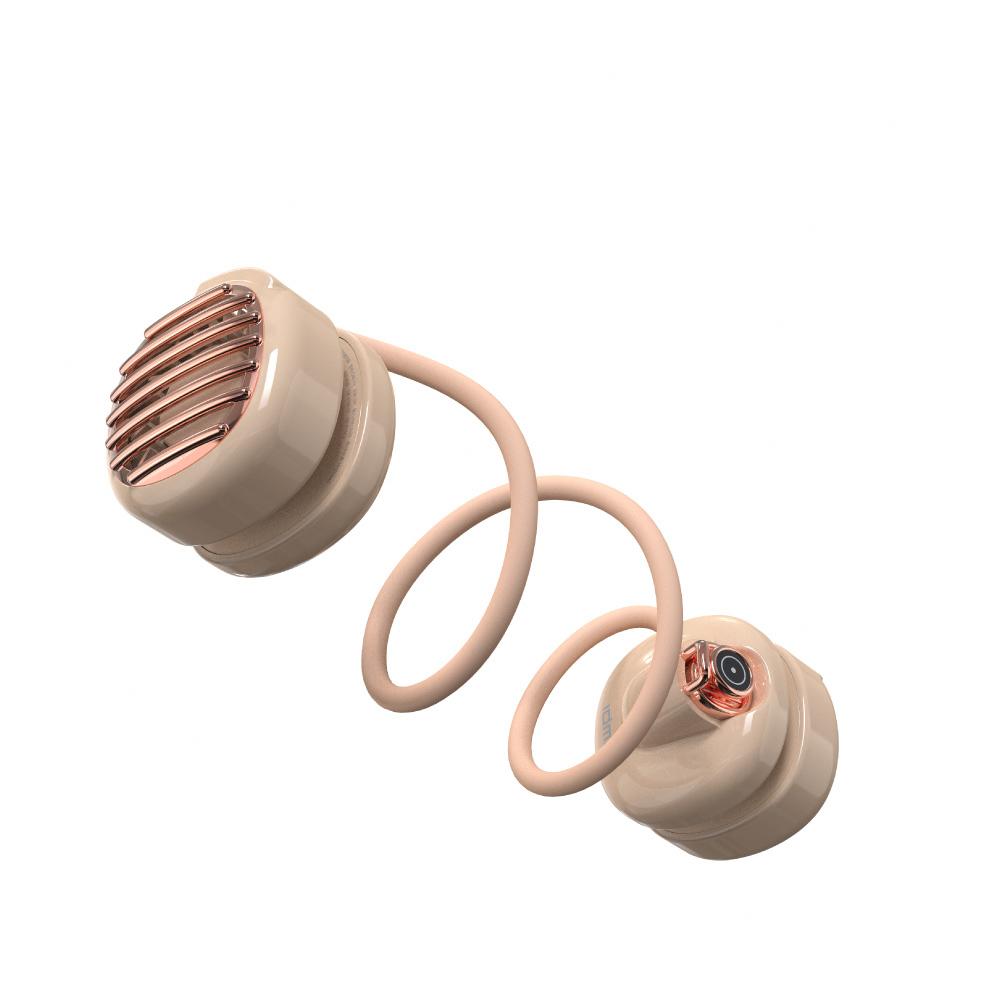 idmix 口袋掛脖USB小風扇Q40-F3-粉